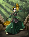 Mulan of the Kyoshi Warriors
