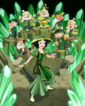 SnowWhite and the 7 earthbenders