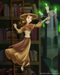 Belle, Librarian